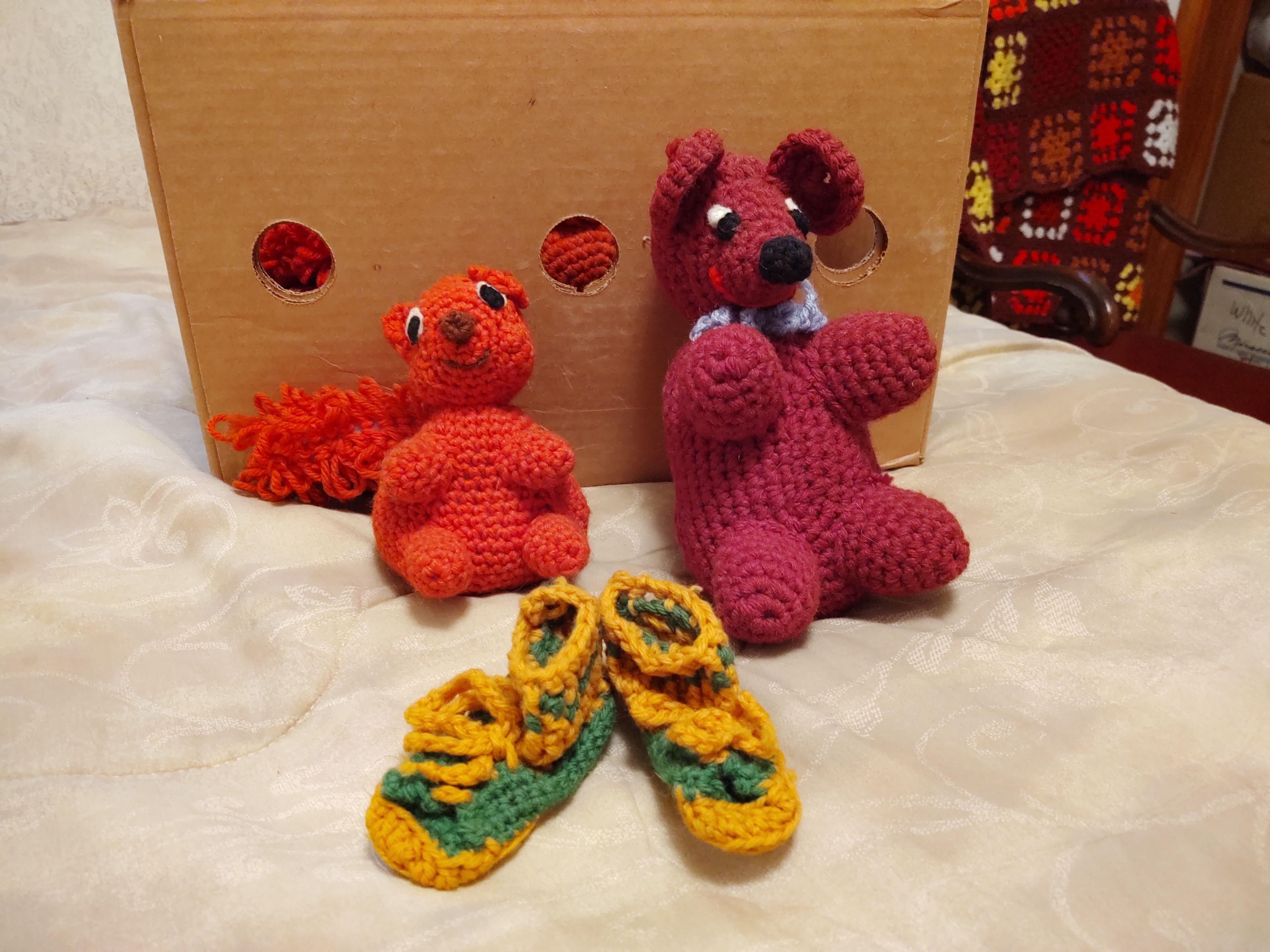 Booties and squirrels